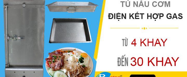 Máy nấu cơm công nghiệp hoạt động như thế nào